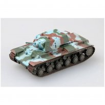 Imagem - Miniatura Tanque Finnish Army KV-1E Heavy Tank - 1:72- Easy Model
