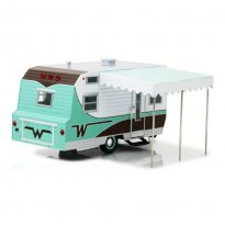 Imagem - Miniatura Trailer Winnebago 216 (1964) - Hitch e Tow - Series 3 - 1:24 - Greenlight