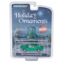 Imagem - Ford: Mustang Boss 429 (1969) - Holiday Ornaments - Série 1 - 1:64 - Greenlight