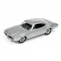 Imagem - Miniatura Carro Oldsmobile Cutlass 442 (1969) - Muscle Cars U.S.A - 2016 Series - Prata - 1:64 - Johnny Lightning