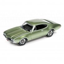 Imagem - Miniatura Carro Oldsmobile Cutlass 442 (1969) - Muscle Cars U.S.A - 2016 Series - Verde - 1:64 - Johnny Lightning