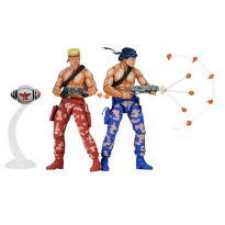 Imagem - Pack Bill and Lance: Contra (Classic Video Game) - 1:10 - Neca