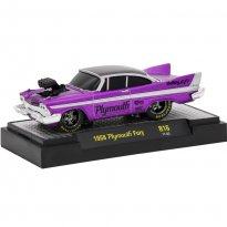 Imagem - Plymouth: Fury (1958) Roxo - Ground Pounders - 1:64 - M2 Machines