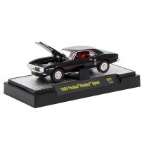 Imagem - Pontiac: Firebird Sprint (1968) Preto - Detroit Muscle - 1:64 - M2 Machines