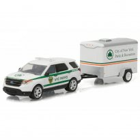 Imagem - Ford: Explorer NYC Parks (2015) - Hitch & Tow - Series 7 - 1:64 - Greenlight