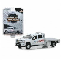 Imagem - Miniatura Picape Chevrolet Silverado 3500HD (2018) - USA-1 - Dually Drivers - Série 2 - 1:64 - Greenlight
