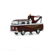 Imagem - Miniatura Carro Volkswagen Type 2 Double Cab Pick-Up (1968) - Blue Collar Collection - Série 6 - 1:64 - Greenlight
