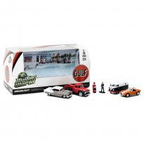 Imagem - Set: Motor World - Gulf Oil - 1:64 - Greenlight