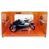 Miniatura Side Car Harley Davidson FLHRC Road King Classic (2001) - 1:18 - Maisto
