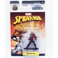 Imagem - Boneco Spider Girl MV53 - Marvel Spider-Man - Nano Metalfigs - Jada Toys