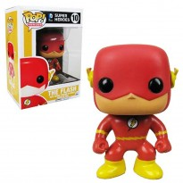 Boneco The Flash - Super Heroes - DC Comics - Pop! Heroes 10 - Funko