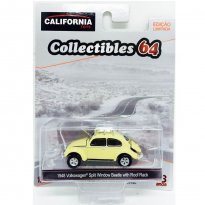 Imagem - Volkswagen: Split Window Beetle / Fusca (1958) - California Toys - 1:64 - Greenlight