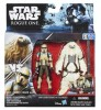 Pack c/ 2 Bonecos - Star Wars Rogue One - Moroff/Scarif Stormtrooper Squad Leader - Hasbro 2