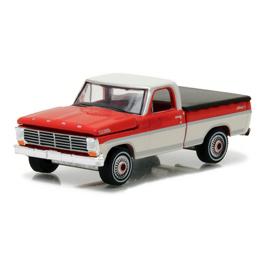ford f 100 pickup 1967 100th 1 64 greenlight. Black Bedroom Furniture Sets. Home Design Ideas