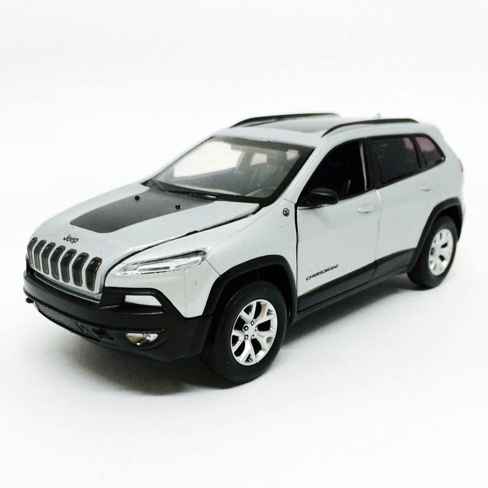 Jeep Cherokee C Luz E Som 1 32 California Minimundi Com Br