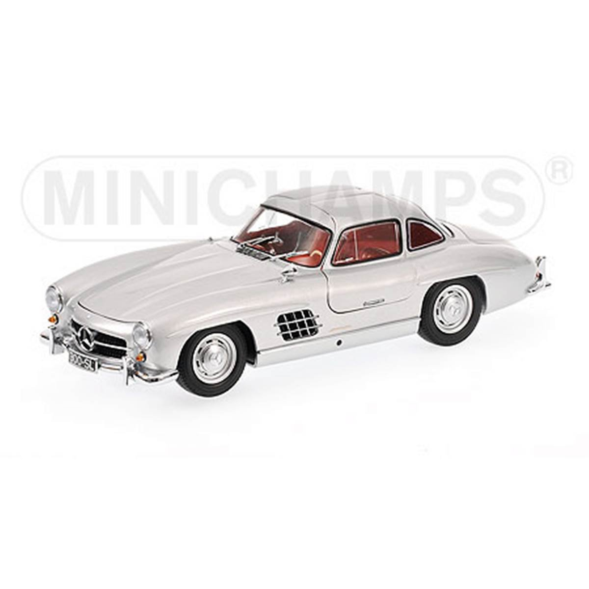 Mercedes Benz: 300 SL Gullwing (1954)   Prata   1:18